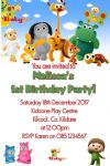 Personalised Baby TV Invitations
